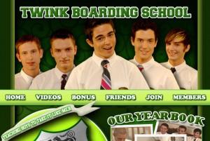 Twink Boarding School porn review